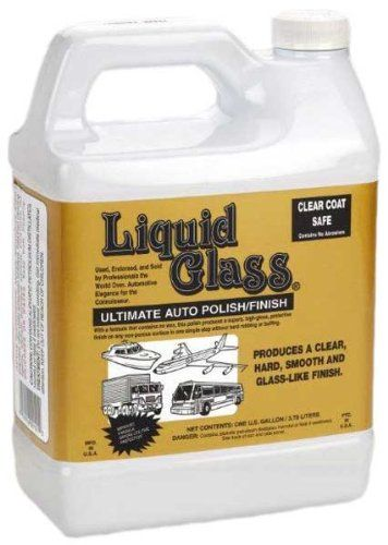 Liquid Glass Ultimate Auto Polish (Gallon). For product info go to:  https://www.caraccessoriesonlinemarket.com/liquid-glass-ultimate-auto-polish-gallon/