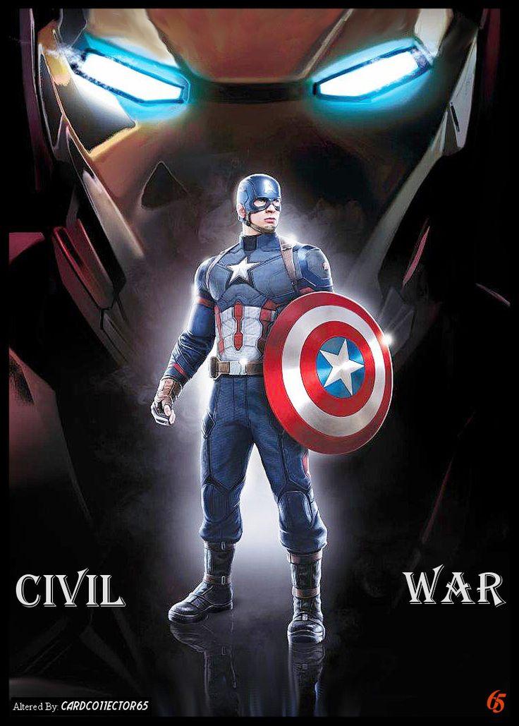 Captain America, Civil War - MTG - Sleeves