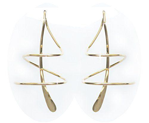 Earspiral TM Earrings 301SGF 14K Gold-filled Harry Mason http://www.amazon.com/dp/B00025ODOC/ref=cm_sw_r_pi_dp_NcSKwb0HD7MEV