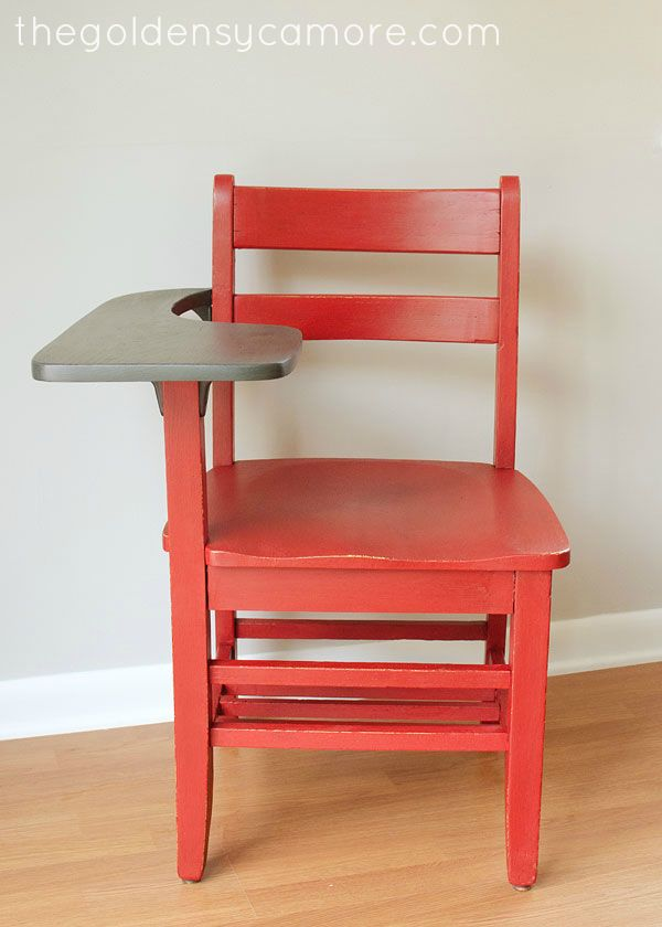 Brilliant Vintage School Chairs For Sale Sycamore Red Desk T In Design Decorating