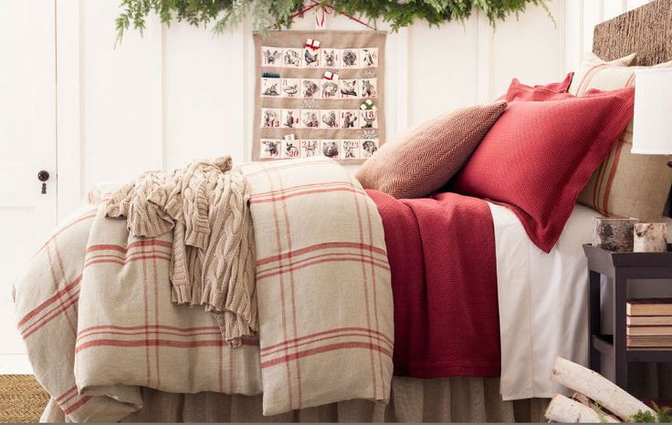It is still winter around here and it is still COLD. Warm up at night with these comfortable looking bedspreads and throws from Pine Cone Hill.
