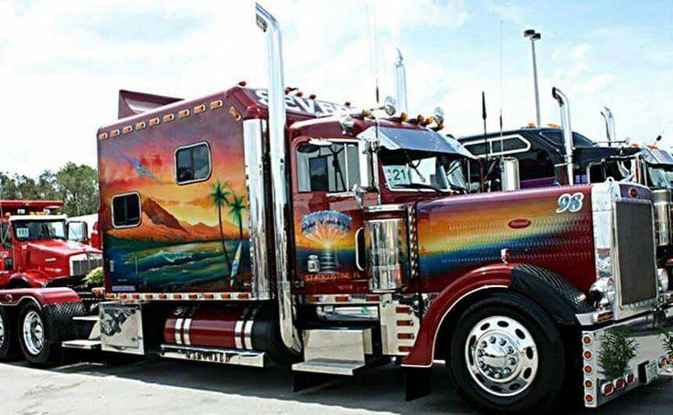 17 meilleures images propos de camion am ricain sur - Camion benne americain ...