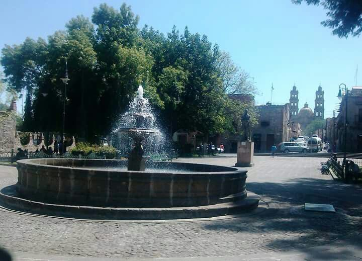 Plaza del Carmen Morelia