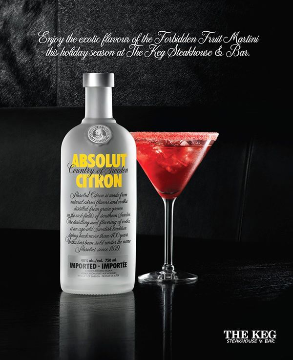 FUZE Reps / Jim Norton | FUZE Reps for The Keg Steakhouse and Bar / Absolut Vodka on http://www.themeatmarket.co