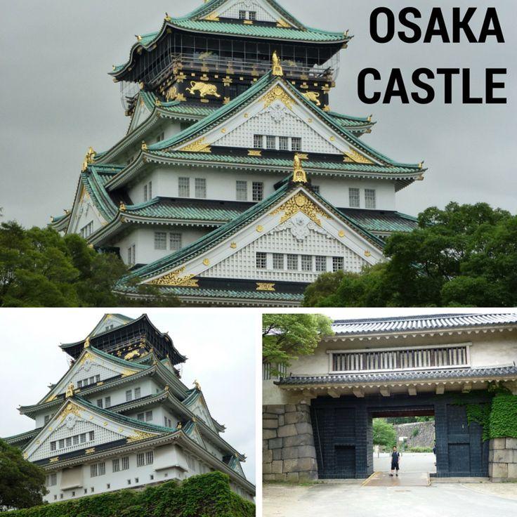 Osaka Castle di pusat kota Osaka merupakan istana kerajaan Jepang pada awal abad ke 16. Kini istana 7 lantai ini menjadi museum kota yang terkenal.