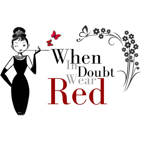Red dress christmas quote