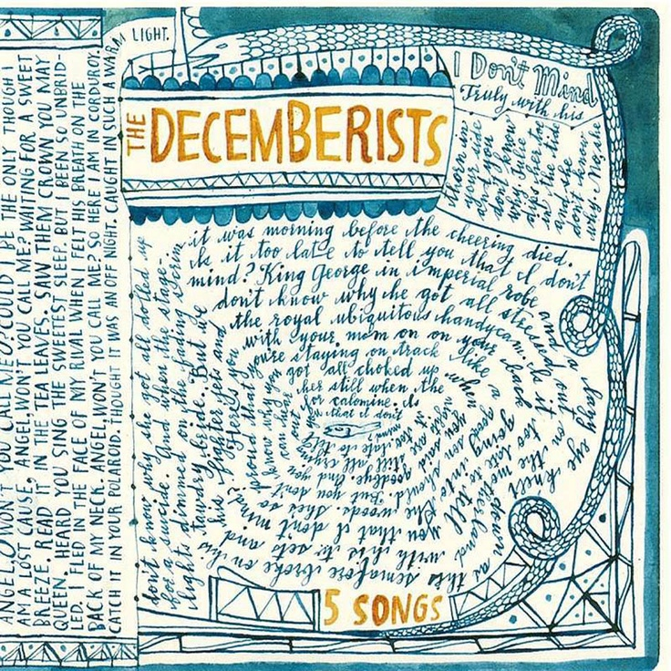 The Decemberists  Five song ep