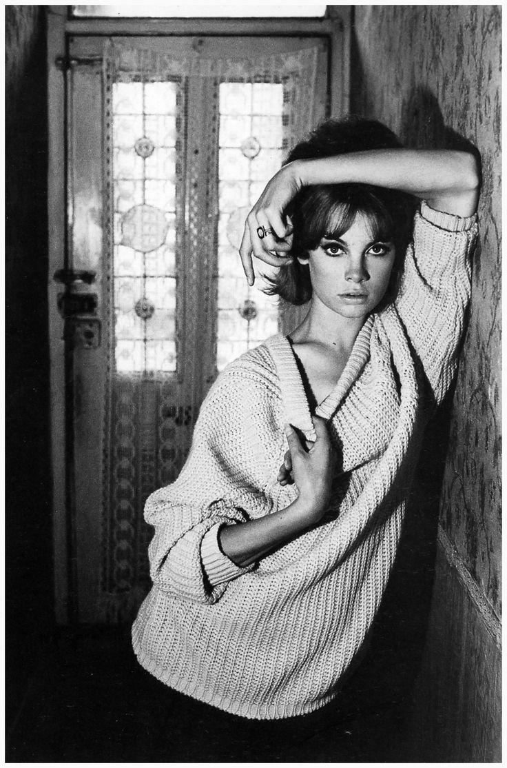Jean Shrimpton at 91 Heigham Road,1961 Photo David Bailey