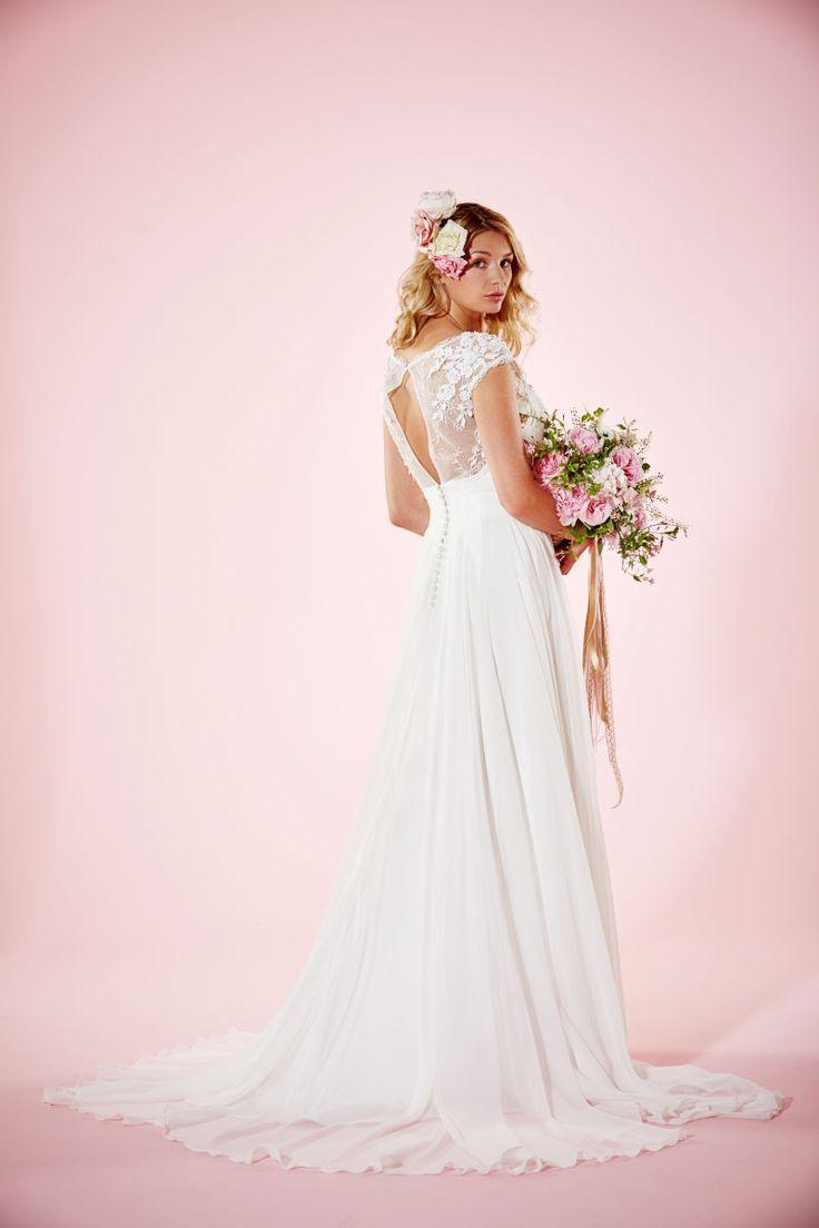 Lillie Mae | Stunning Wedding Gown | A Line Wedding Dress | Charlotte Balbier