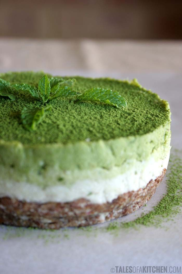 Coconut mint matcha cake...oh my what a #cake