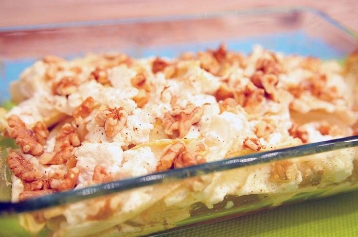 Witlof uit de oven met appel en walnoten-Voedzaam en Snel
