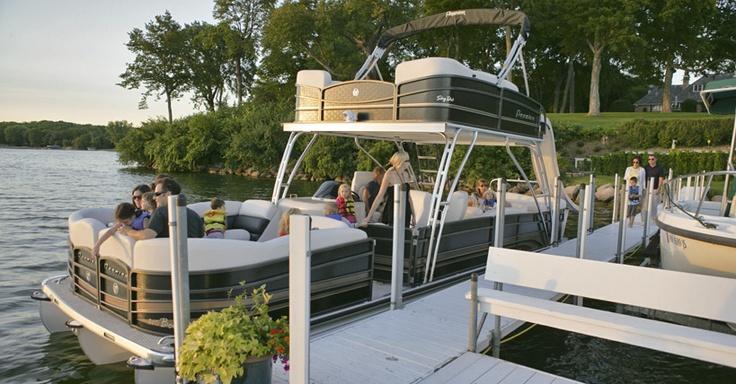 Premier Pontoons Boundary Waters Custom Pontoon Boats