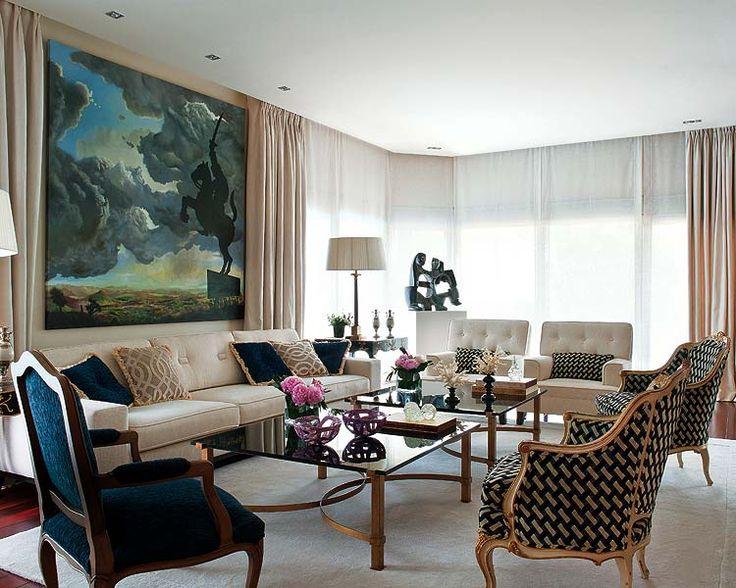 Contemporary Living Room Interior Design Ideas