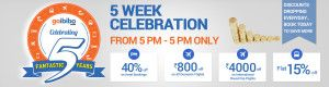 NOT Free AIR TICKETS, But Something Better Offers By GOIBIBO DISCOUNT COUPONS – GOIBIBO TURNED 5 This Year & Here is Something for It's CUSTOMERS! http://www.buy1get1.in/blog/not-free-air-tickets-but-something-better-offers-by-goibibo-discount-coupons-goibibo-turned-5-this-year-here-is-something-for-its-customers/
