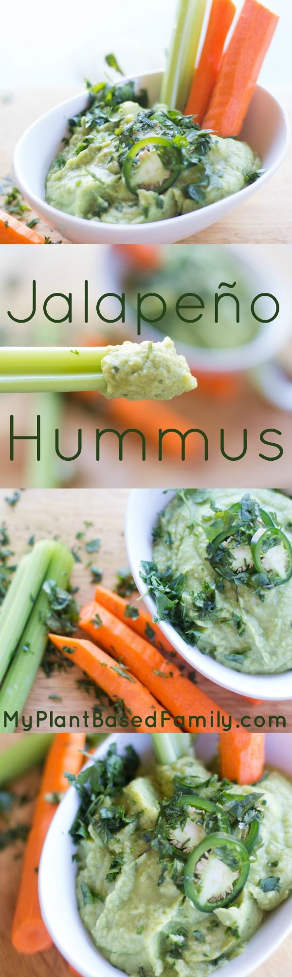 Jalapeno Hummus is gluten-free, plant-based (vegan, dairy-free) and also oil-free.  This is perfect to make for a party or as a snack.