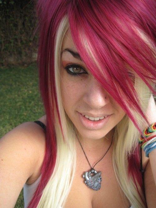 Red & Blonde Hair - love it!!