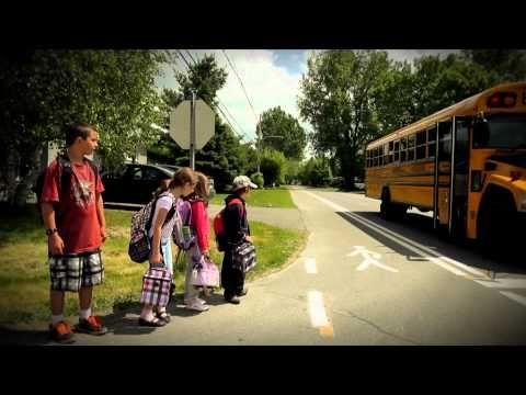 Sécurité Transport Scolaire Autobus - CSSMI - YouTube