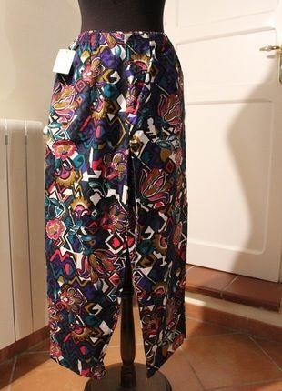 Compra il mio articolo su #vinted http://www.vinted.it/abbigliamento-da-donna/pantaloni-a-gamba-larga/58906-pantaloni-vintage-oversize-a-fantasia-taglia-l