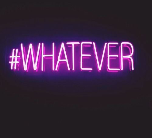 "This could serve as the hash tag to represent the 21st century. It serves no purpose to argue with people who have neither respect for, nor an understanding of, rational thought. And such folks are well represented in the 21st century. Thus the most suitable response to them is often, ""Whatever."""