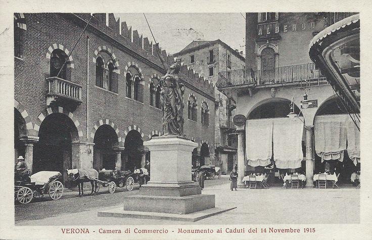 Verona - Camera di Commercio e Monumento ai Caduti