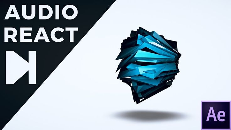 After Effects Tutorial - 3D Audio React 3.0
