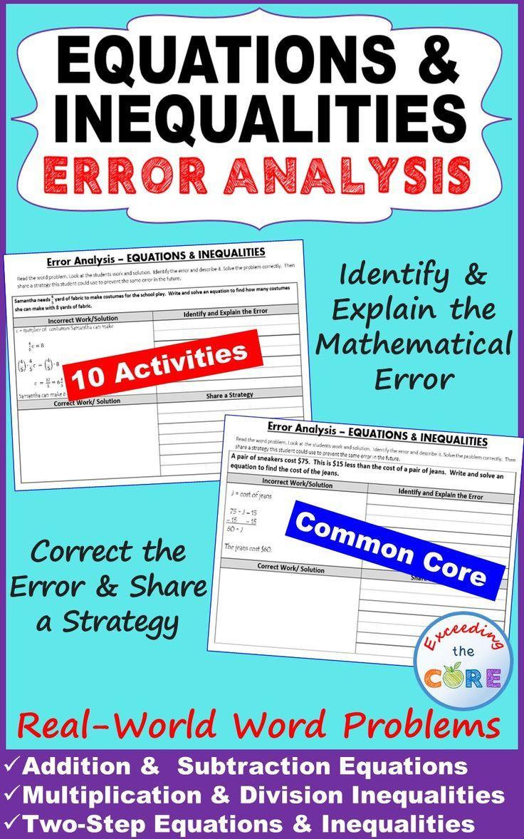 593 best Algebra Ideas images on Pinterest | Algebra 2, Equation and ...