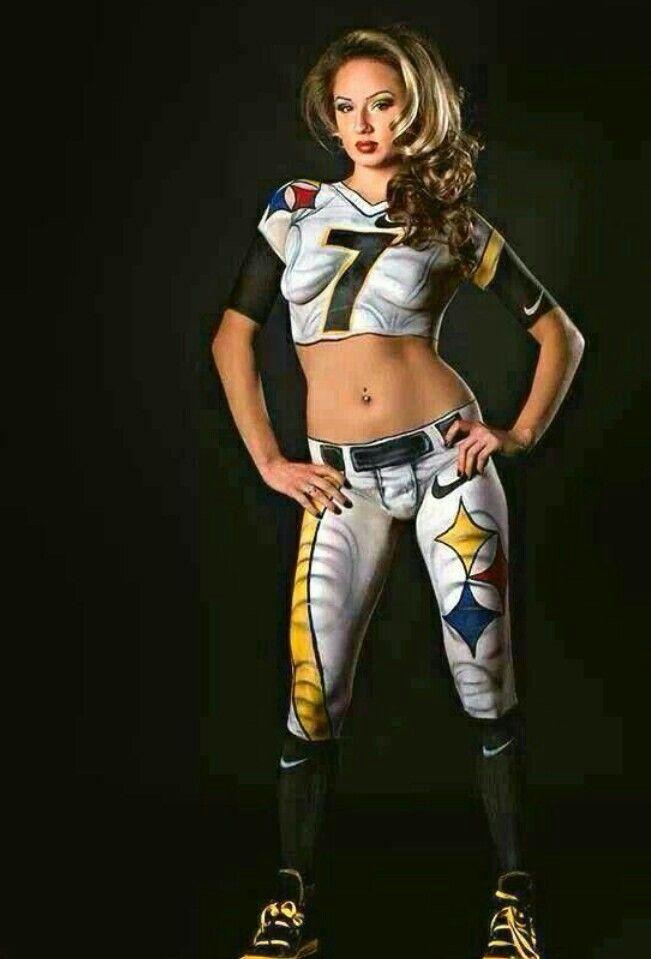Fascinating Artwork Steelers Girl Pittsburgh Steelers