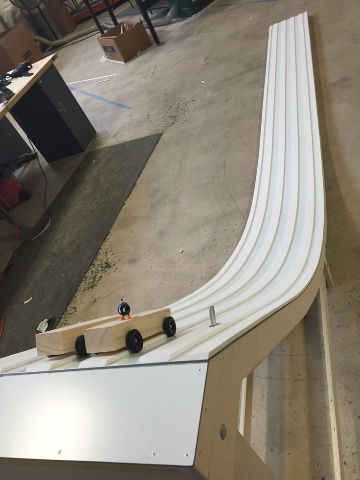 Pinewood Derby Track