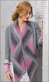Ravelry: Triangle Magic Scarf pattern by Andee Graves
