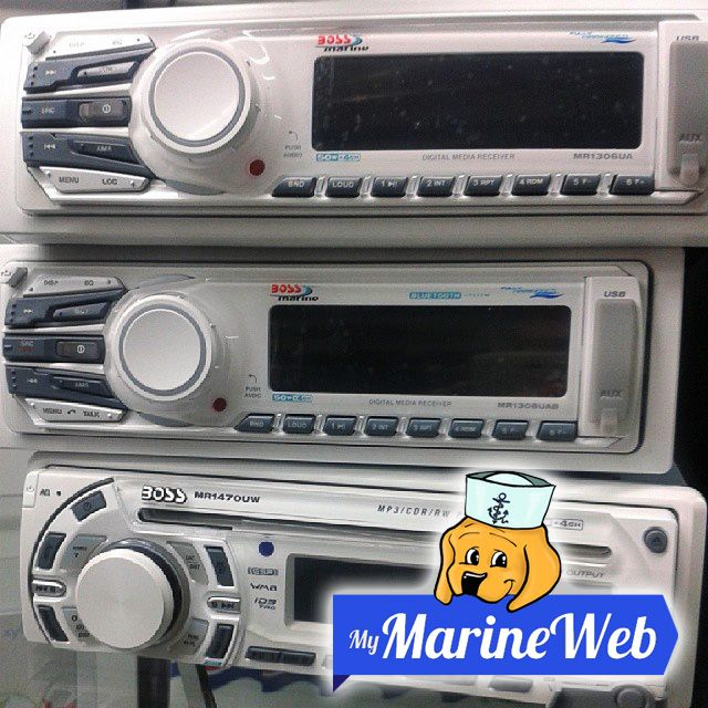 Marine player #BOSS - Stereo marino BOSS