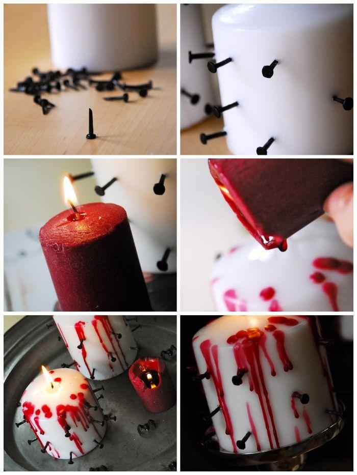1001 Ideen Wie Sie Eine Coole Halloween Deko Selber Machen Halloween Deko Selber Machen Kerzen Dekorieren Deko Selber Machen