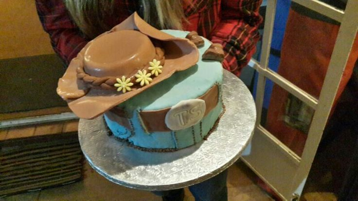 Cowgirl cake for my friend's 18TH