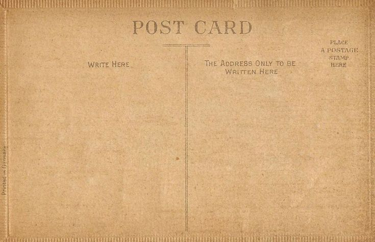 Antique Postcards - Free Printables
