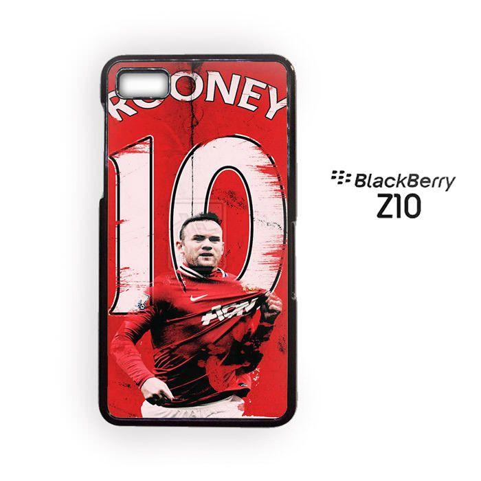 Wayne Rooney MU for blackberry Z10/Q10 3D phonecases