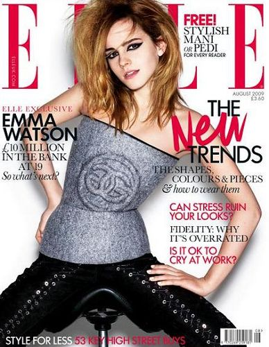 Satulatuoli emma-watson-elle-cover-girl by dtodoblog, via Flickr