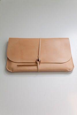 leather laptop satchel by Kent Sorenson