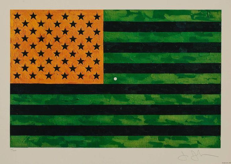 Jasper Johns, Flag (Moratorium), 1969, Heritage Auctions: October Surprise
