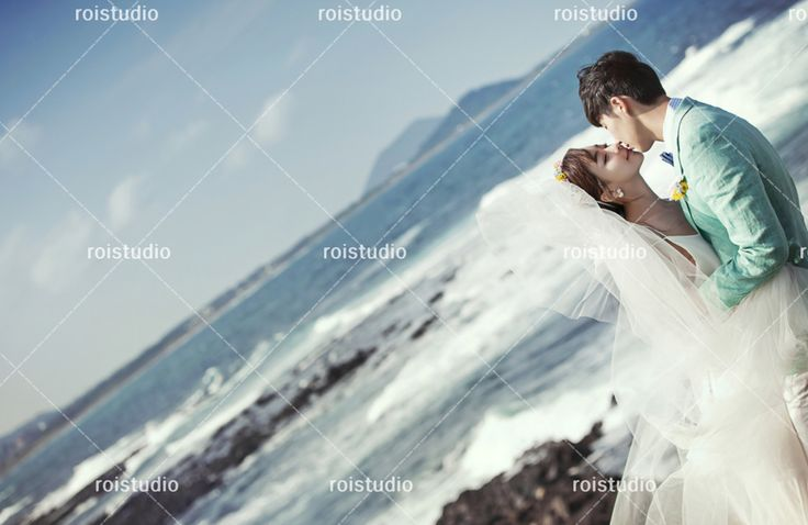 Jeju Beach Test Shot; recreate this scene for your own special day!
