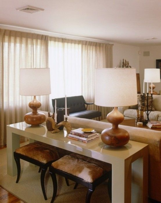 15 Inspiring Beige Living Room Designs   Love The Stools Under The Little  Table, Could