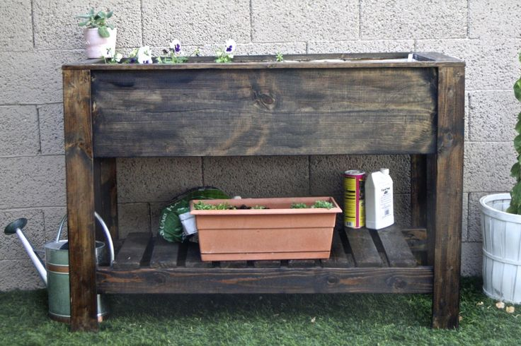 Raised Planter Box Do It Yourself Home Projects From Ana