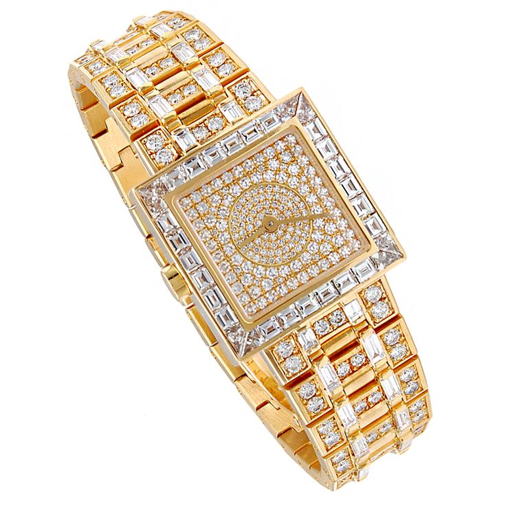 1stdibs - BULGARI++Gold+Diamond+Watch explore items from 1,700+ global dealers at 1stdibs.com