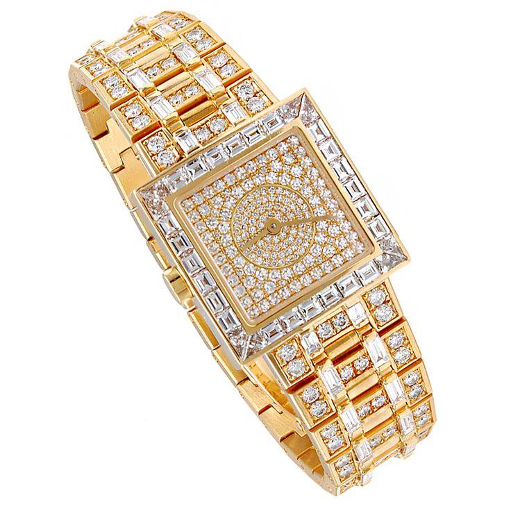 1stdibs - BULGARI++Gold+Diamond+Watch explore items from 1,700+ global dealers at 1stdibs.com