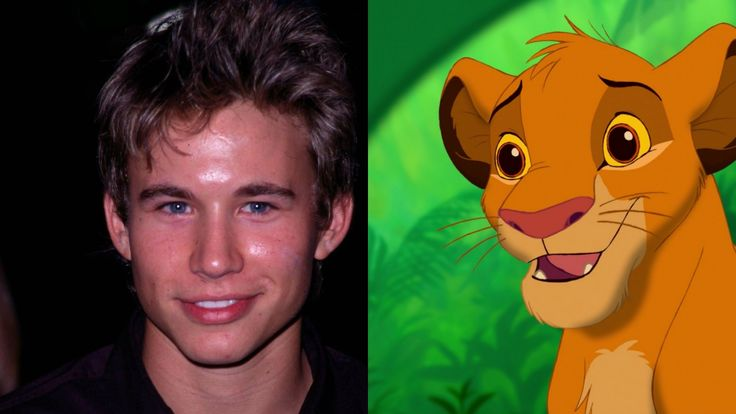 Jonathan Taylor Thomas in 'The Lion King'