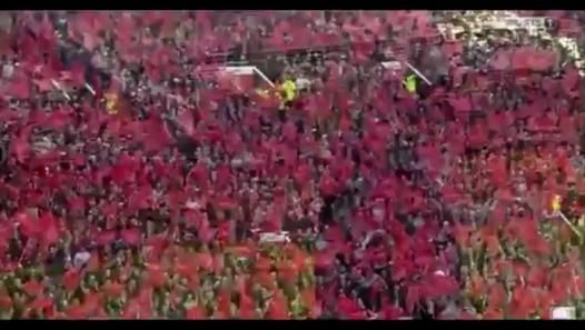 Incredible Reception For Sir Alex Ferguson Last Ever Game At Old Trafford - Video Dailymotion