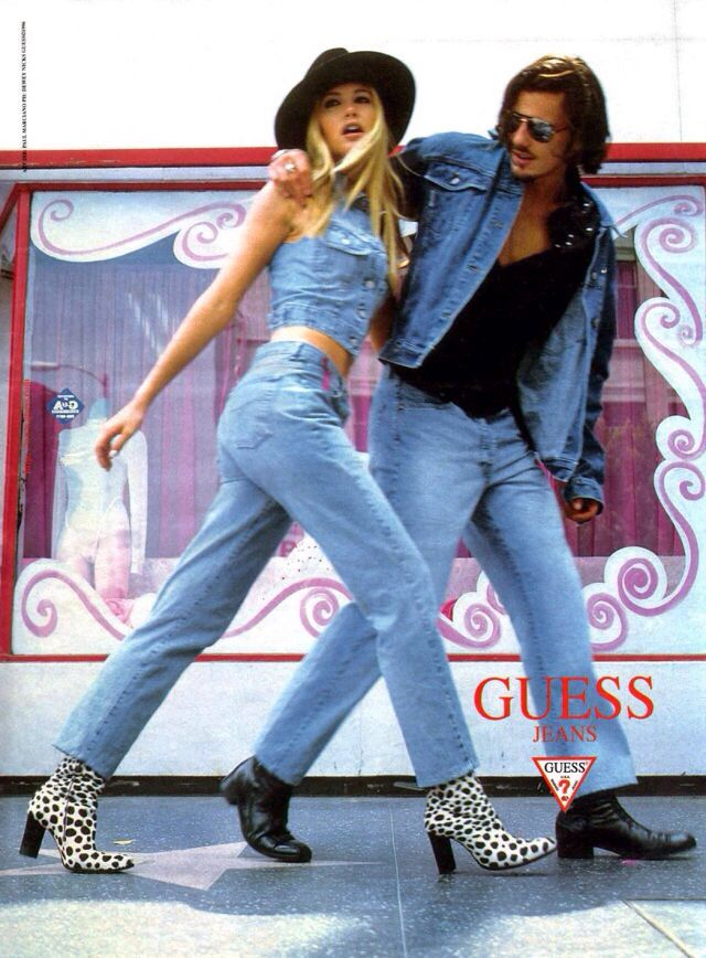 17 Best images about ad campaigns on Pinterest | 90s ... Guess Jeans Ad