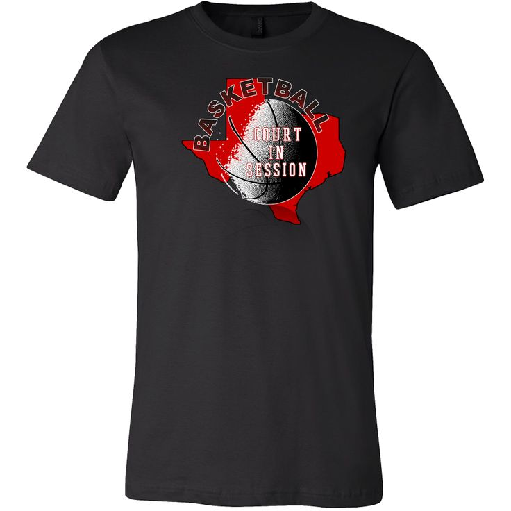 Texas Tech Basketball Court In Session Men's T-Shirt