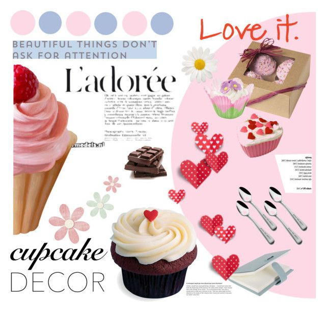 CupCake by lailah37 on Polyvore featuring interior, interiors, interior design, dom, home decor, interior decorating, Bentley and cupcakedecor