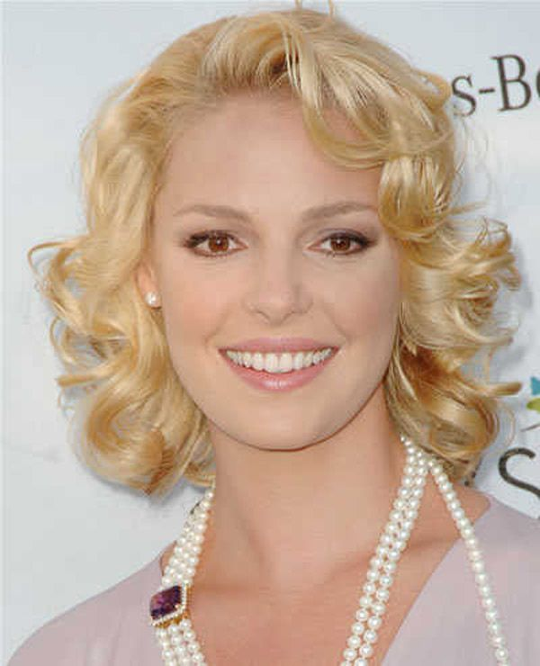 Wedding Guest Hairstyles For Curly Hair : 64 best cortes images on pinterest