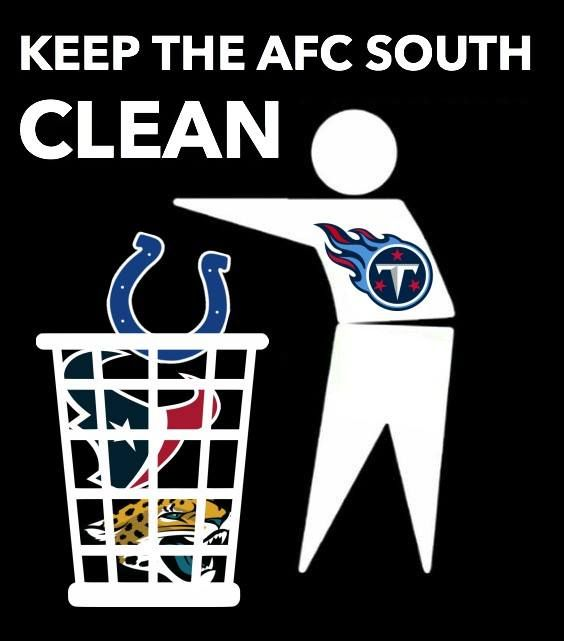 Titans could be the class of the division this year, sad to say