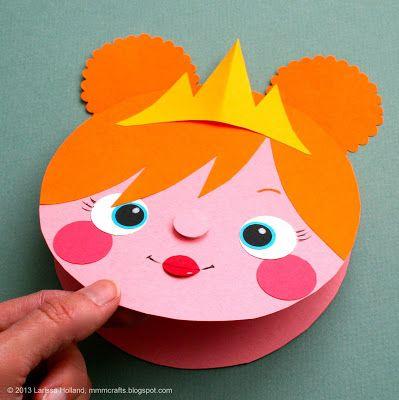 Carte Princesse - Déclinable